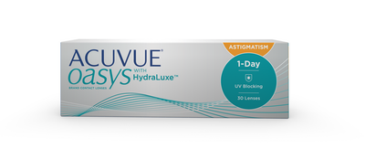 NOUVEAU  ACUVUE OASYS® 1-Day for ASTIGMATISM   Johnson and Johnson ... 9b00dd673899